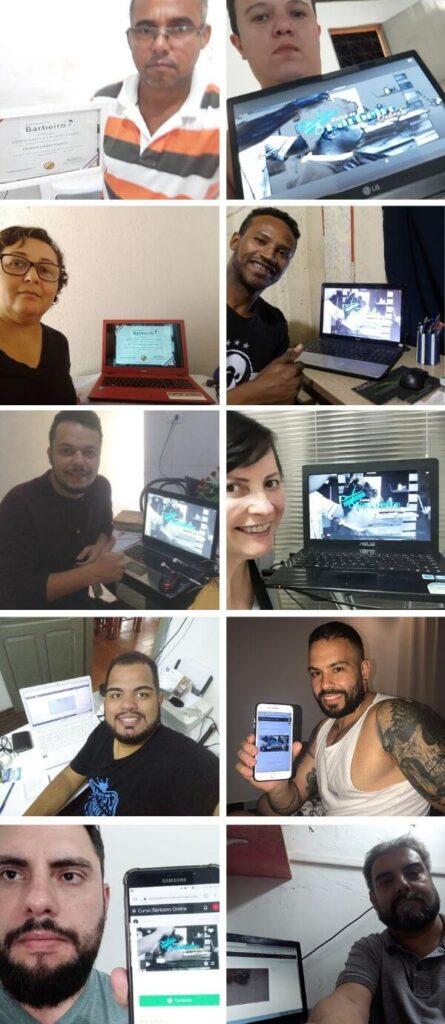 Curso de Barbeiro Online Resultado - Barbeiro Profisiional