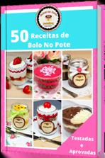 E-book 50 receitas de bolos no pote