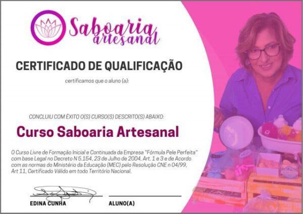 Curso Saboaria Artesanal Com Certificado