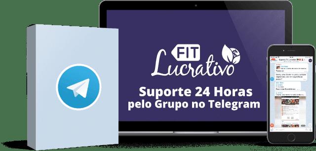 SUPORTE 24 HORAS PELO GRUPO DO TELEGRAM