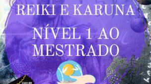 Curso de Reiki e Karuna Online - Nível 1 ao Mestrado