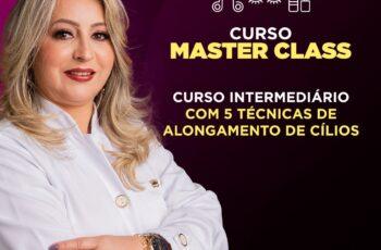 Masterclass - Designer de cílios Gelda Cabral