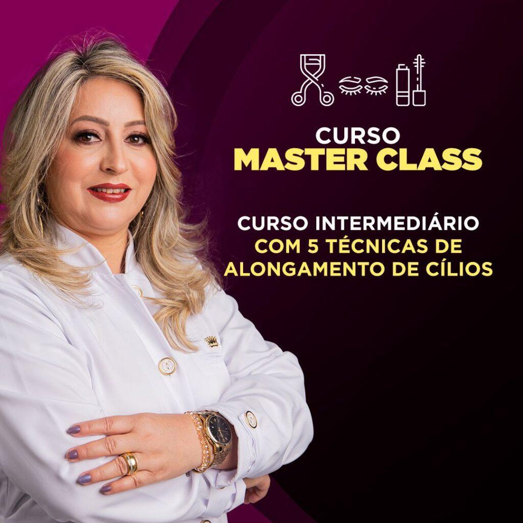 Masterclass - Designer de Cílios Curso da Gelda Cabral