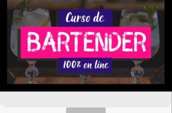 Curso de Bartender 100% online
