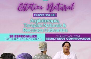 Curso de Estética Natural com Argiloterapia e Terapias Naturais
