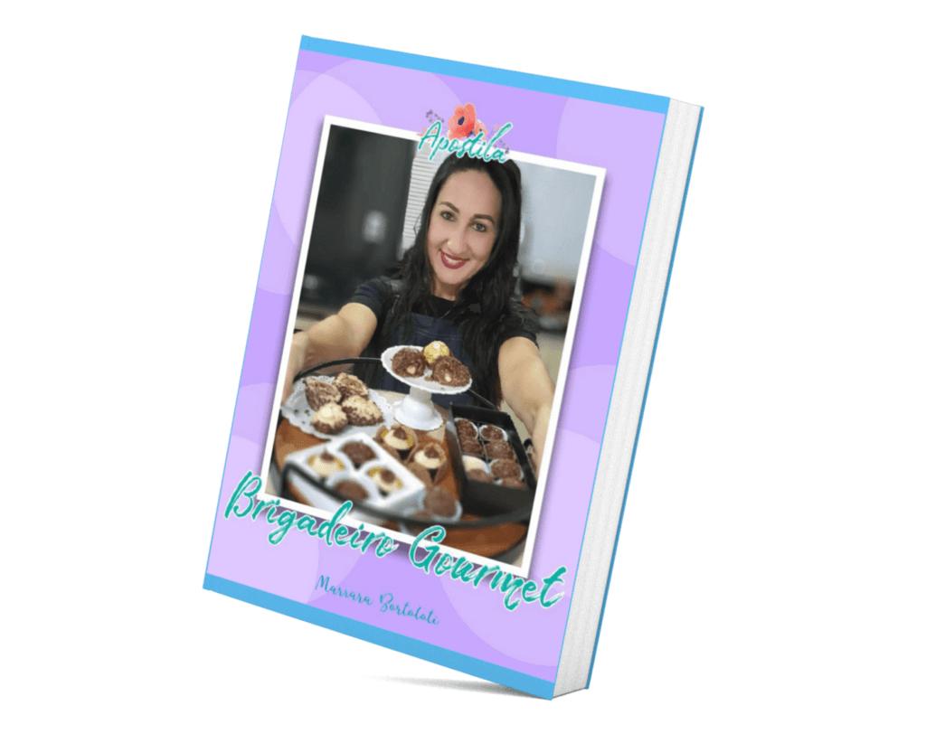 Mini apostila com 10 receitas incríveis de brigadeiros com Marrara Bortoloti
