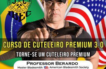 Curso de Cuteleiro Premium 3.0 - Professor Berardo
