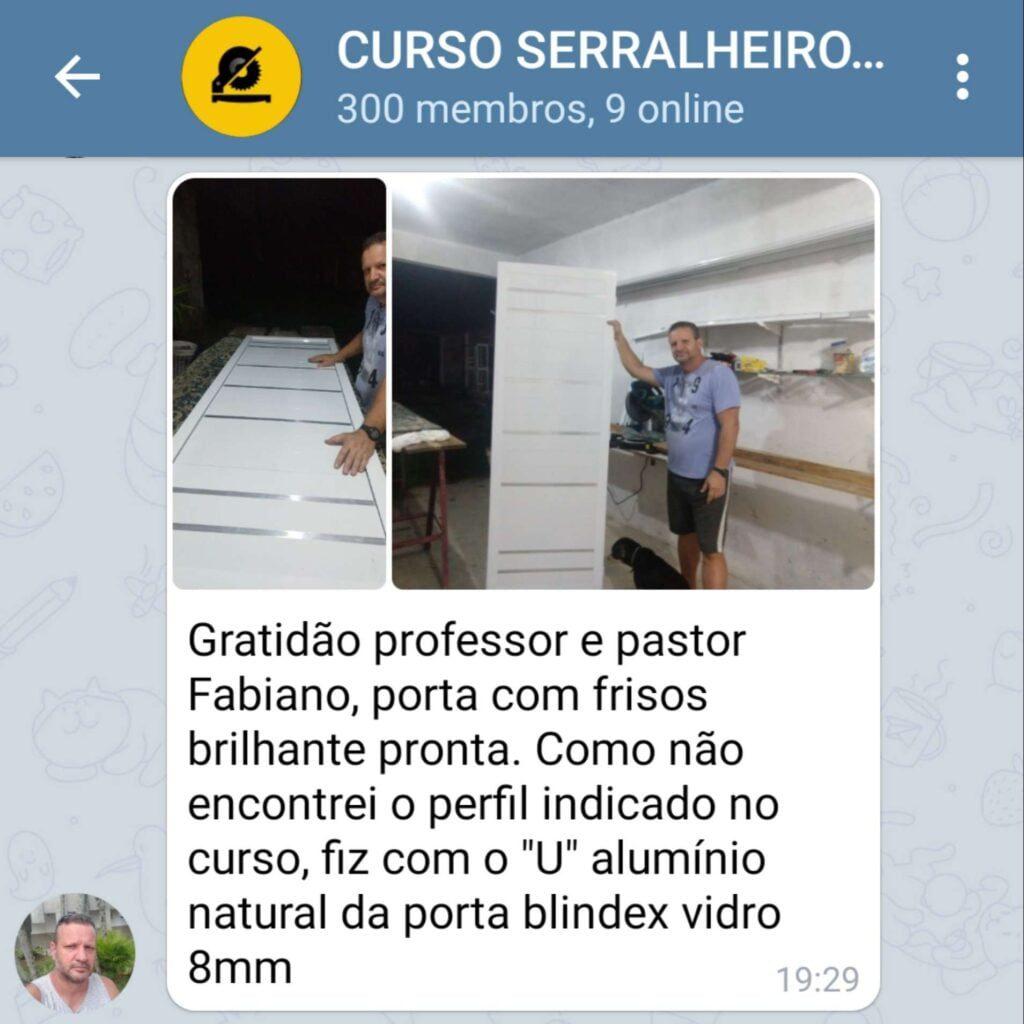 Curso Serralheiro 2.0