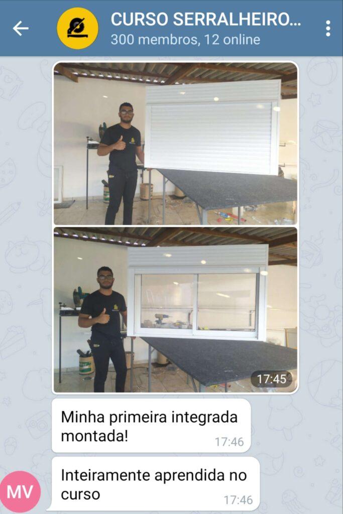 Curso Serralheiro
