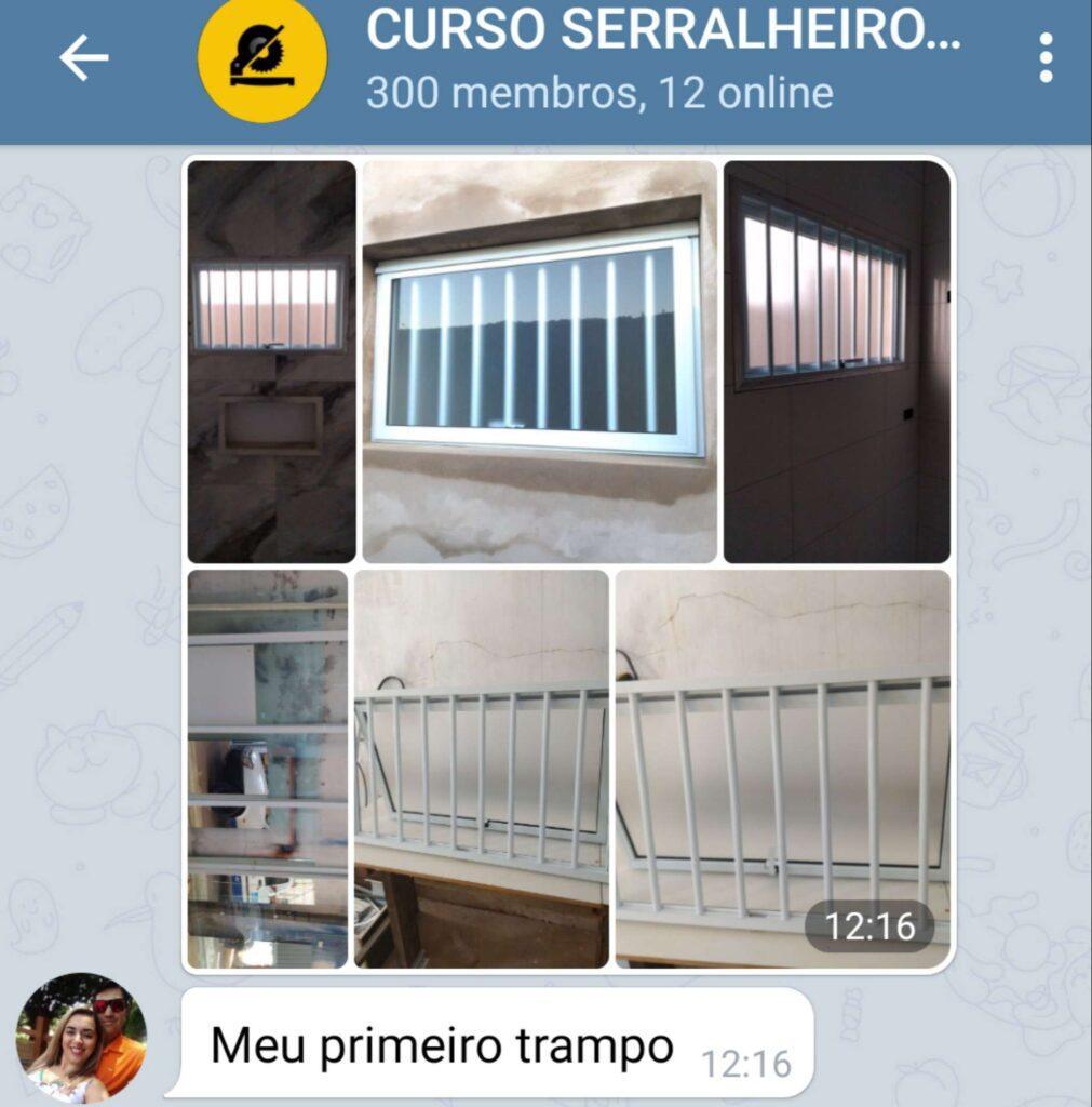 Curso Serralheiro 2.0 preço