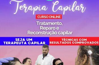 CURSO de TERAPIA CAPILAR - Do Básico ao Avançado - Seja um Terapeuta Capilar