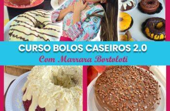 Bolos caseiros 2.0 com Marrara Bortoloti