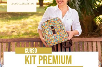 Kit Premium Patch da Lu
