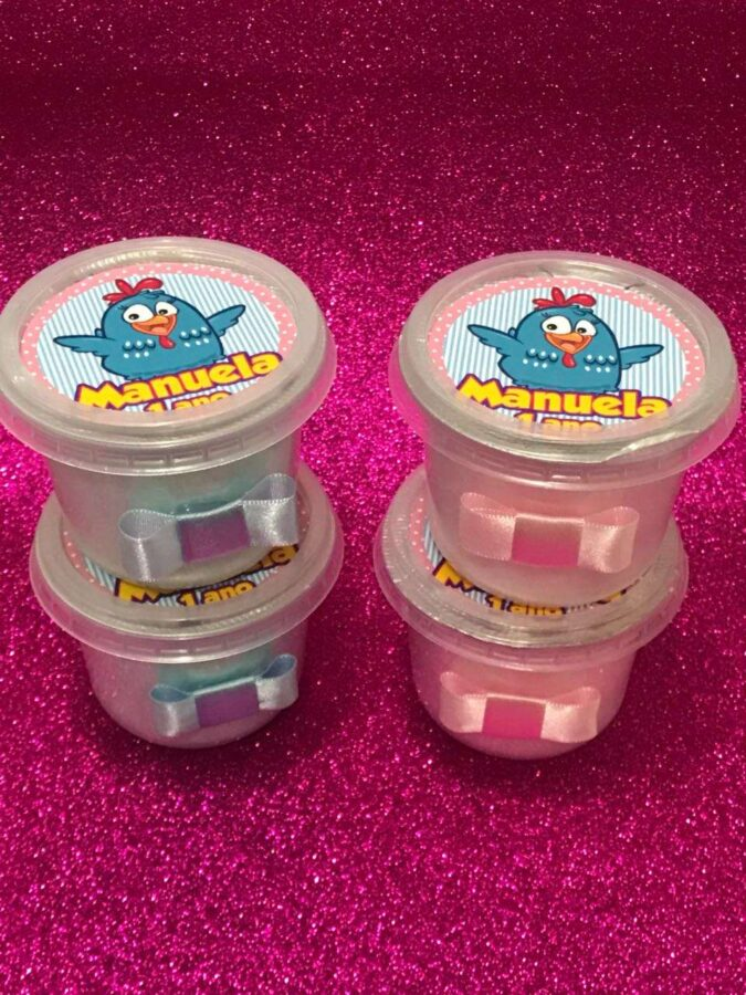 Algodão Doce - Mini Potes de 145ml